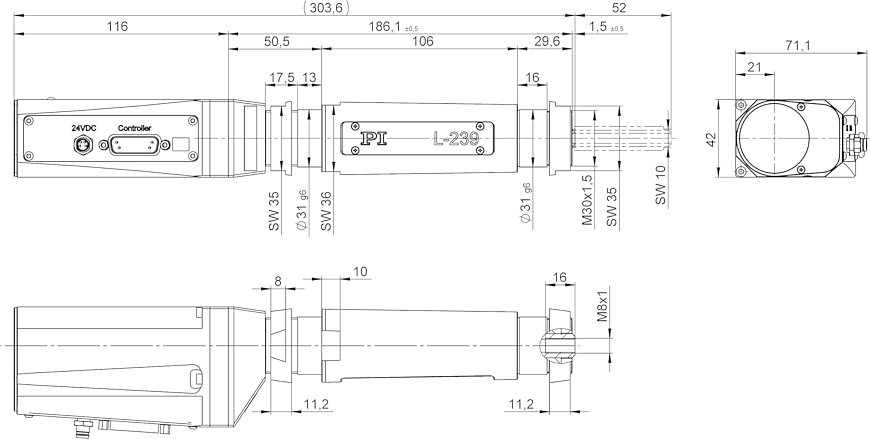 L-239 High-Load Linear Actuator