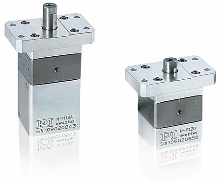 Fig 3.1 N-111 miniature NEXLINE® linear actuators (Image: PI)