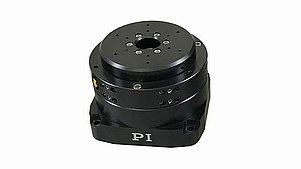 Rotation Stages with Torque Motor, Aperture, Air Bearings: Fast, Ultra-high Precision