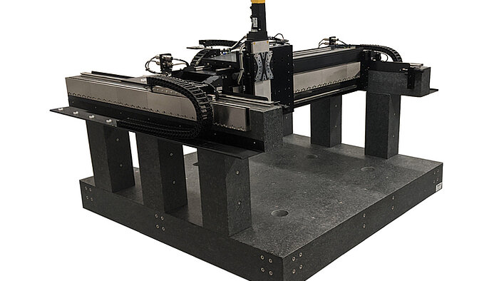 A-352 Large XY / XYZ Gantry Stage with Linear Bearings, Linear Motors
