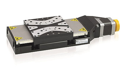 L-511 Linear Stage is available with closed-loop stepper and servo motors and provides resolution down the nanometer range.