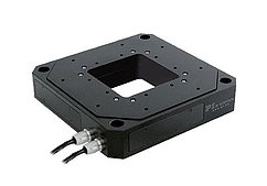 XYZ Piezo Flexure Stages with Aperture (up to 300µm)