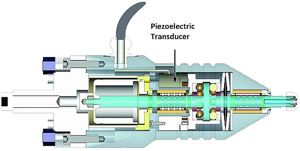 Piezo ceramics in a machine tool: Piezo actuators improve the performance of die-sinking EDM machining