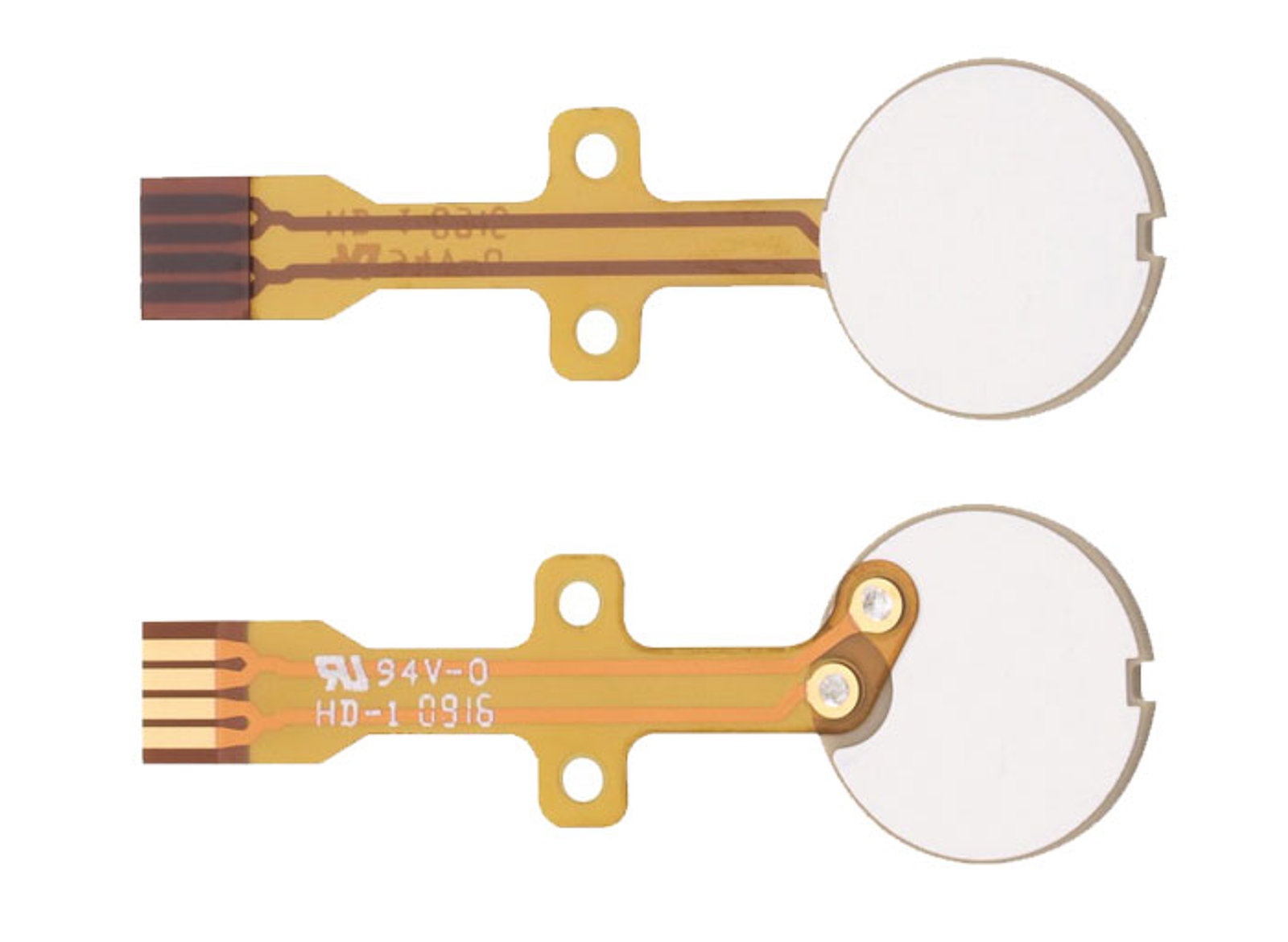 Piezo Transducers Actuators And Motor Drive Solutions For Medical Basic Circuit Board Diagram Prototypes Electromagnetic Pistol Transducer Discs Are Available With Flexible Pcb To Facilitate Integration In Volume Production Image Pi