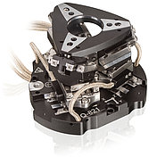 The Q-821, miniature 6-Axis parallel manipulator based on six  Q-521 linear stages