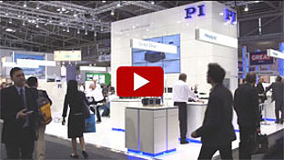 PI Booth at 2015 Laser World of Photonics