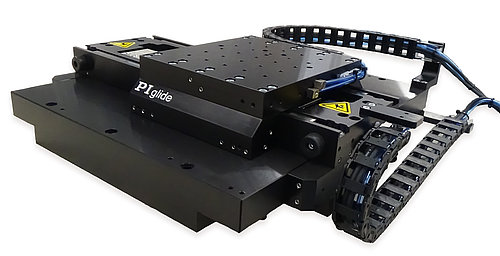 Planar XY stages, such as the A-311, can be compact and affordable, when compared to similar cross roller stages. Watch video
