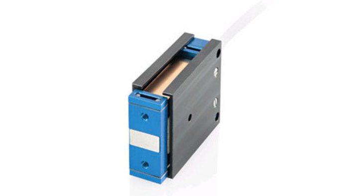 This miniature positioner is driven by a single phase linear motor (voice-coil) and guided by flexures for long service life. Closed and open-loop operation is possible, and the integrated 100 nanometer linear encoder provides reliable position control and repeatable accuracy. PI's C-413 motion controller features 10kHz servo update rate.