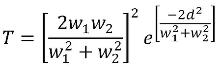 Equation 1, classical Gaussian coupling