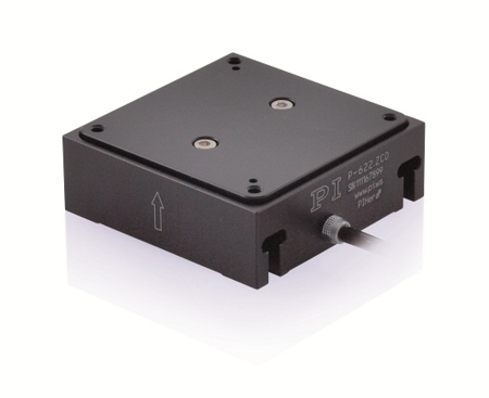 P-622.ZCL is a low-profile piezo-nanopositioning Z scanning stage that finds applications in confocal PTM. (Image: PI)