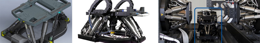 Novel Sample Stage Alignment Hexapod for X-ray Microscopy and Tomography
