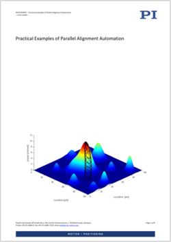 "Whitepaper ""Practical Examples of Parallel Alignment Automation"""