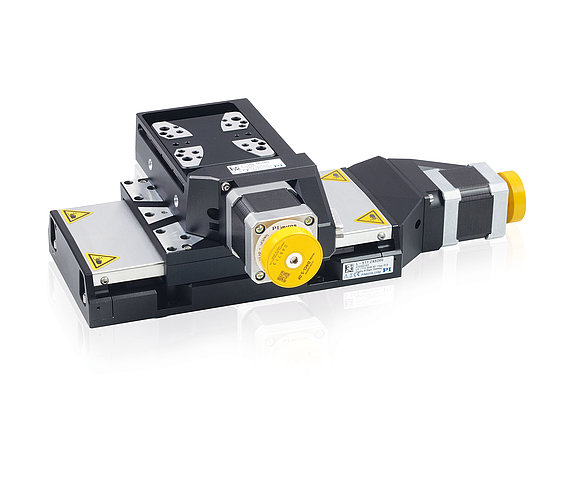 L-511 and L-509 precision stages can be combined without adapter plate for multi-axis positioning