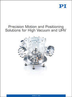 Download Precision Motion and Positioning Solutions for High Vacuum and UHV Catalog