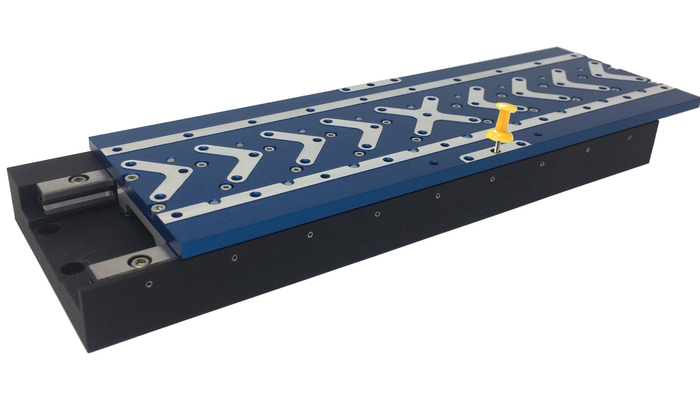 V-508 stages are compact linear positioning stages configured with high force 3-phase linear motors and crossed roller guides. Options include travel ranges, motor types, and encoders choices that result in 18 ultra-precise stages well-suited for industry and research applications.