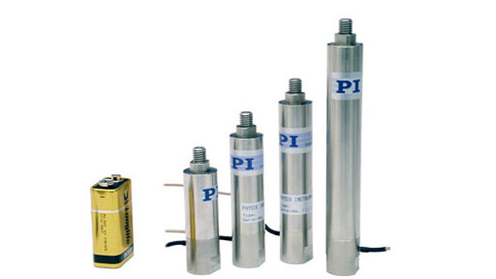Piezoelectric Actuators: P-844/P-845 Piezo Stacks