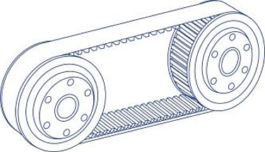 Belt Gears Diagram