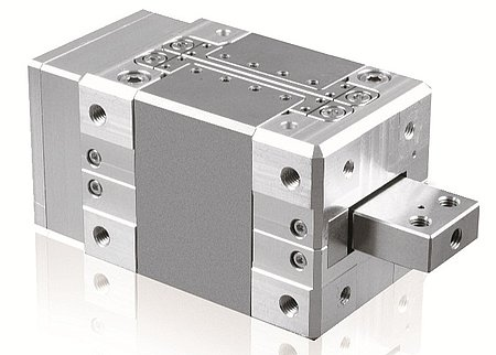 Fig 3.2 N -216 high-force NEXLINE® linear actuator (Image: PI). See animation of the actuator here. (Image: PI)