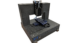 XYZ Motion System using V-508 linear stages in granite bridge counterbalance