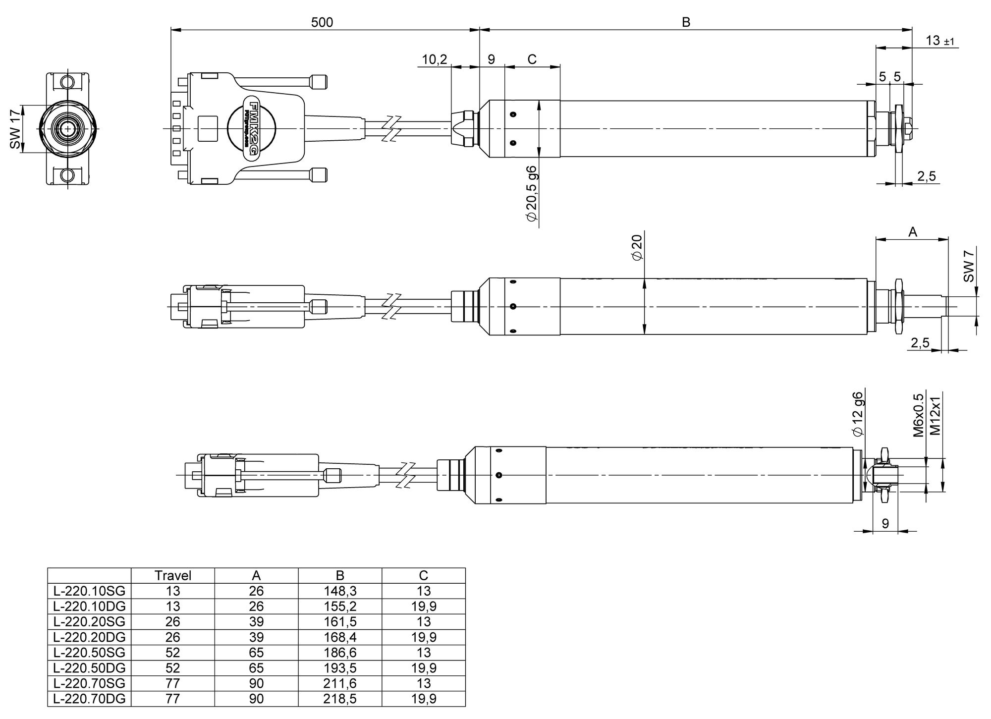 Linear Actuator 220v Wiring Diagram Completed Diagrams 12v L 220 High Resolution Dimensions In