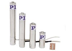 Piezo Stack Actuators: ~100µm Travel, Forces to 30kN, <1msec Response