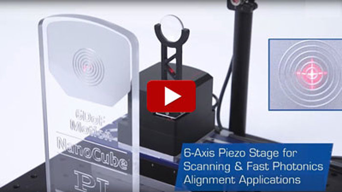 6-Axis Nanopositioning and Fiber Alignment Applications