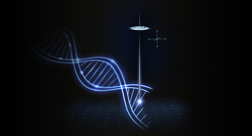 """The genome analysis method known as """"sequencing-by-synthesis"""" is based on fluorescence microscopy."""