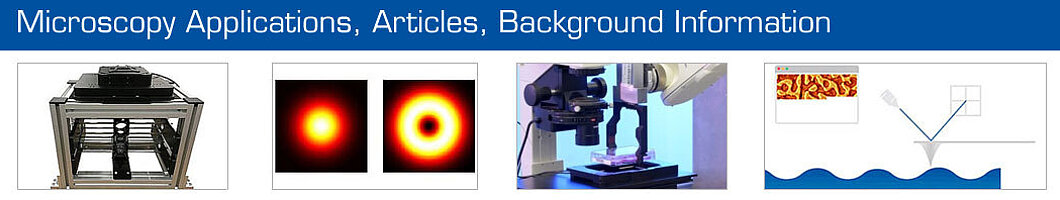 Microscopy Applications, Articles, and Applications.