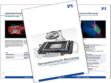 Nanopositioning Tools for High Resolution Microscopy Catalog