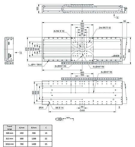 PI LMS-270 Drawing