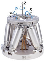 It may seem like hyperbole, but all these issues can be avoided by utilizing principles of parallel kinematics.  Instead of a tall stack of all the necessary axes with the workpiece perched on top, such systems support a single workpiece in parallel by a tripod or hexapod structure, forming a much stiffer yet lighter-weight structure than is possible by stacking.  The best examples of the breed utilize non- or minimally-moving internal cables with conveniently integrated cabling to the controller.  User tuning requirements can be eliminated while providing precision and accuracy that can surpass the performance of some of the best available single-axis stages.