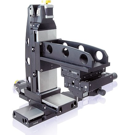 Precision components are the basis for high-quality multi-axis designs