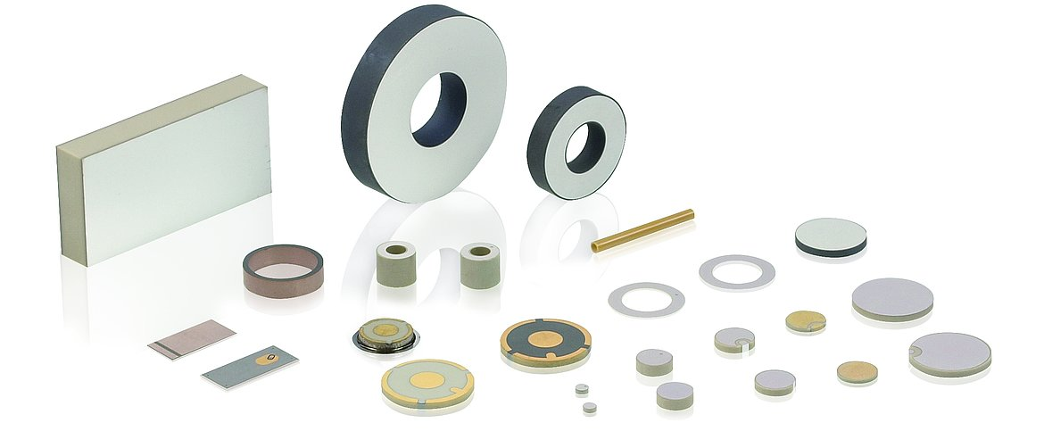 Variety of standard and custom piezo elements for a wide range of applications (Image: PI)