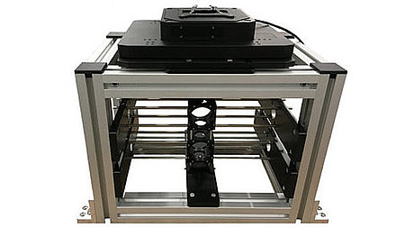 Configurable platform for long-travel motorized microscope stages