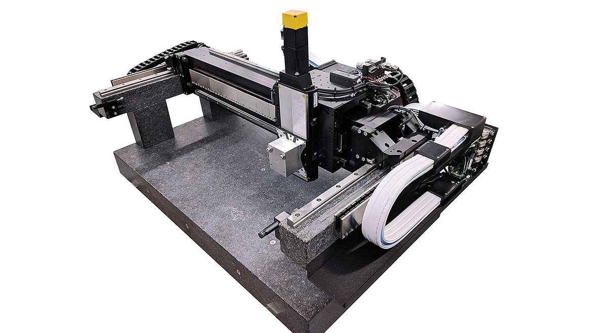 Gantry System for 3-D Printing, Laser Machining with Software
