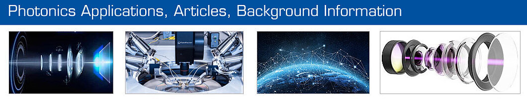 Study photonics applications, articles, background information