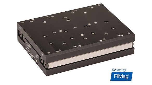 Linear stage of the V-408 series with iron-core linear motor for price-sensitive applications