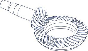 Bevel Gear Diagram