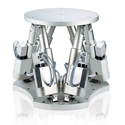 Dynamic motion hexapods are used for motion simulation purposes