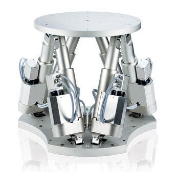 The H-900KSCO motion hexapod can deal with motion profiles as per ISO 20672, ISO 8728, and ISO 16328. It can handle loads to 130lbs (60kg).