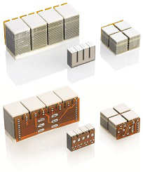 Fig 1.4 PiezoWalk modules come in different sizes and configurations (Image: PI)