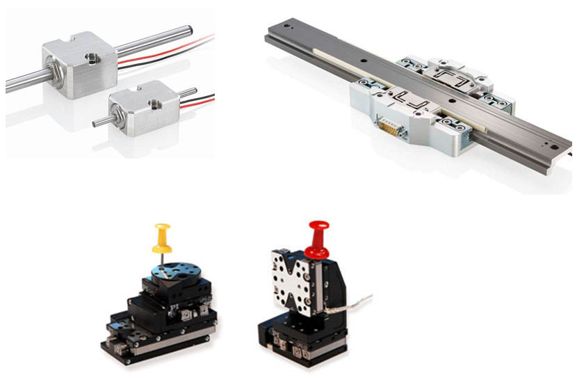 Different piezo motor driven actuators provide long travel ranges to 100's of mm's.