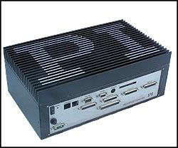 High-Altitude Hexapod Controller, requires no fan, compact flash operating system, rack mounting flanges