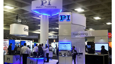PI booth at Photonics West 2019