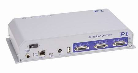 The E-873 3-channel motion controller