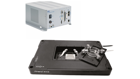 XYZ Piezo Flexure Scanning Stages with Aperture