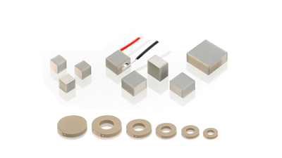 Piezo Chip Actuators & Rings