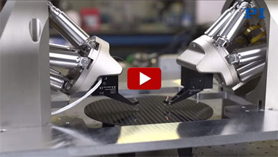 Double Hexapod Nanopositioner for Photonics Automation, Packaging, Wafer Testing, YouTube