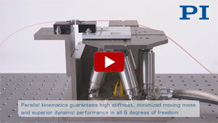 Hexapod Six-Axis Systems for Micro Manufacturing / Fiber Alignment Operation