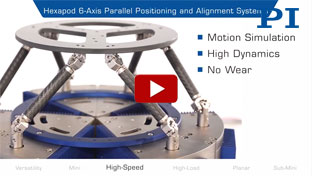 Hexapod 6-Axis Parallel Positioning and Alignment Systems